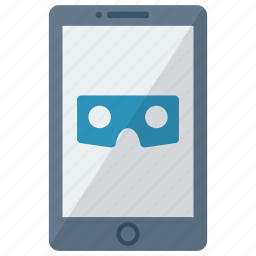 cell, device, mobile, phone, smart, smartphone, vr icon