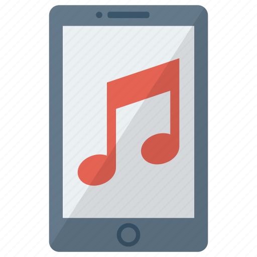 cell, device, mobile, music, phone, smart, smartphone icon