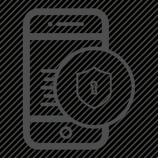 app, care, guarantee, mobile, safe icon