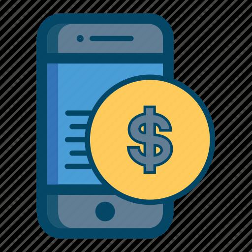 Smartphone Mobile Money App Bill Apps Cash Icon