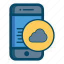 app, apps, cloud, data, internet, mobile, smartphone icon