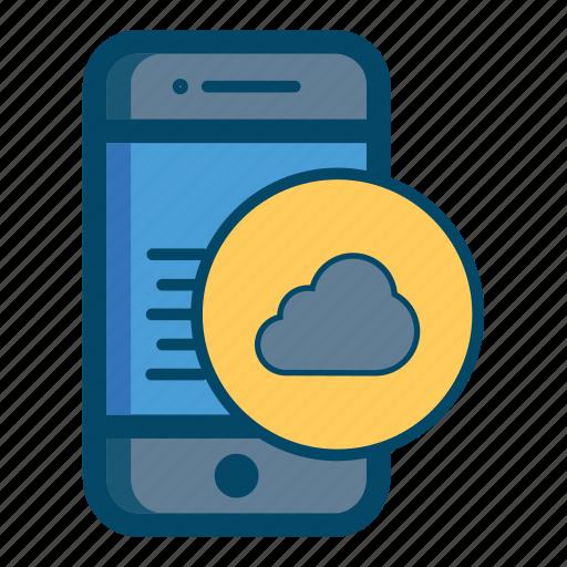 app, apps, cloud, data, internet, mobile, smartphone icon