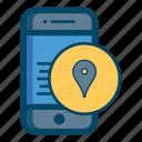 app, apps, area, location, map, mobile, smartphone