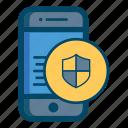 app, apps, care, guarantee, mobile, safe, smartphone icon