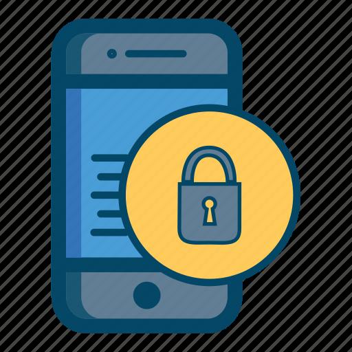 app, apps, care, lock, mobile, safe, smartphone icon