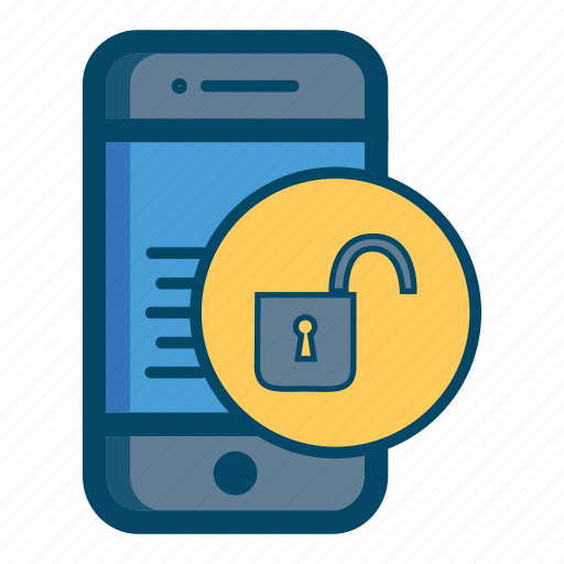 app, apps, care, mobile, safe, smartphone, unlock icon