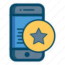 app, apps, best, mobile, ratting, smartphone, star icon