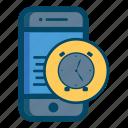 mobile, alarm, app, clock