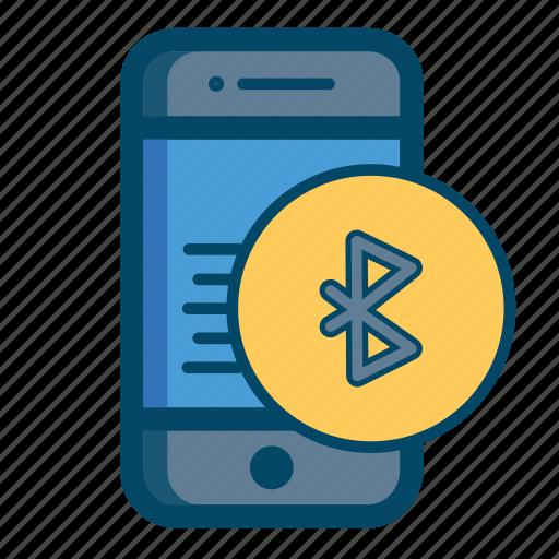 app, bluetooth, mobile icon