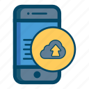 app, cloud, mobile icon
