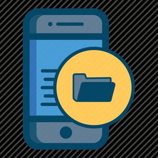 app, file, files, mobile icon