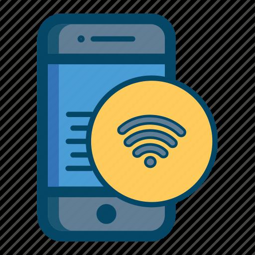 app, internet, mobile, wifi icon