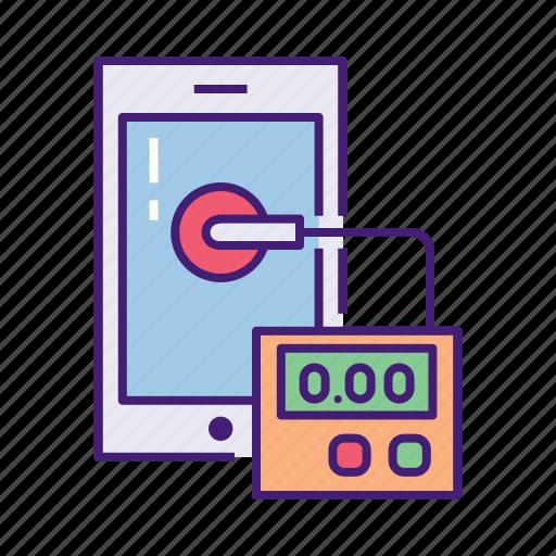diagnose, diagnostics, gauge, hardware, performance, repair, test icon