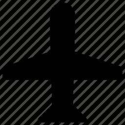 airplane, mode icon