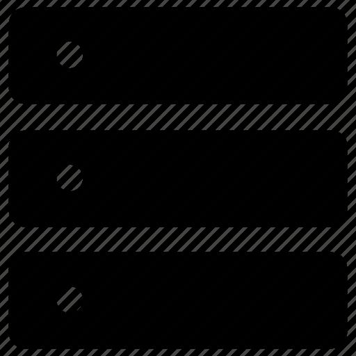 database, list icon