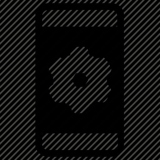 options, settings, smartphone icon