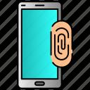 finger, mobile, passcode, password, print icon