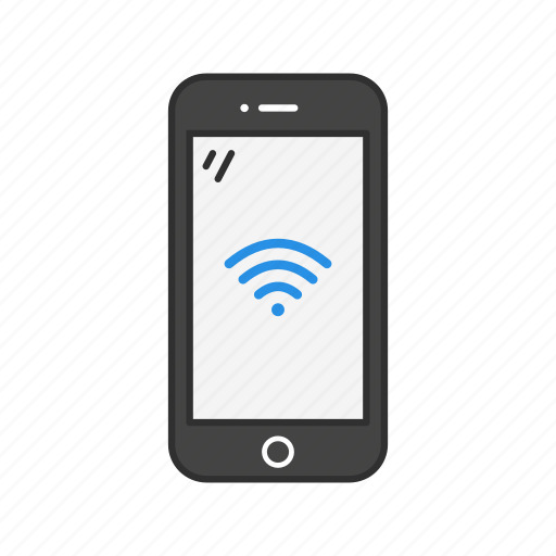 internet connection, mobile wifi, phone, wifi icon