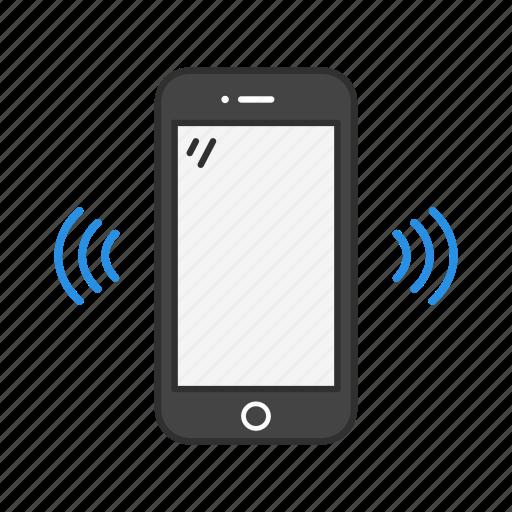 phone, ringing phone, vibrate, vibrating phone icon