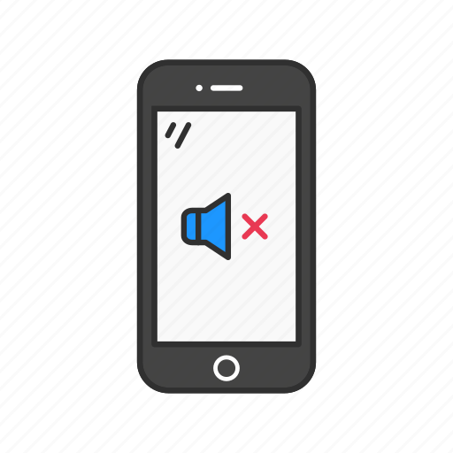 Mute, mute phone, phone, silent icon - Download on Iconfinder
