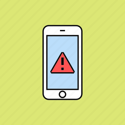 alert, danger, notification icon