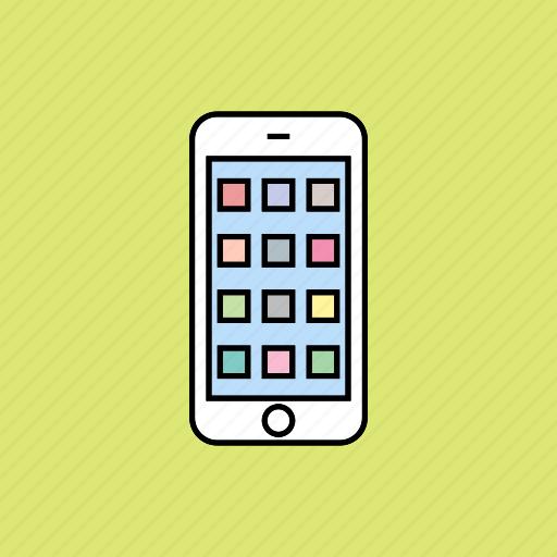 apps, home, menu icon