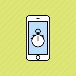 chronometer, stopwatch, time icon