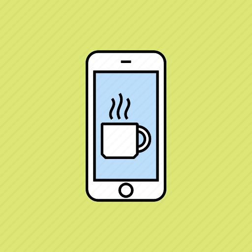 beverage, break, coffee, drink, tea icon