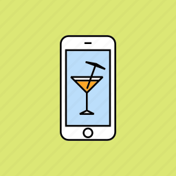 bar, cocktail, drink, night club, night out icon