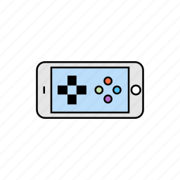 entertainment, fun, game, smartphone icon