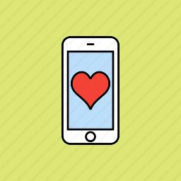 evaluate, heart, love icon