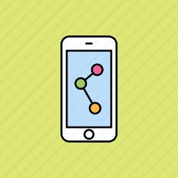 links, media, network, social media icon