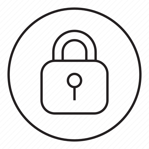 blocked, closed, lock, security icon