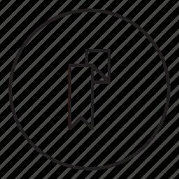 label, mark, sign icon