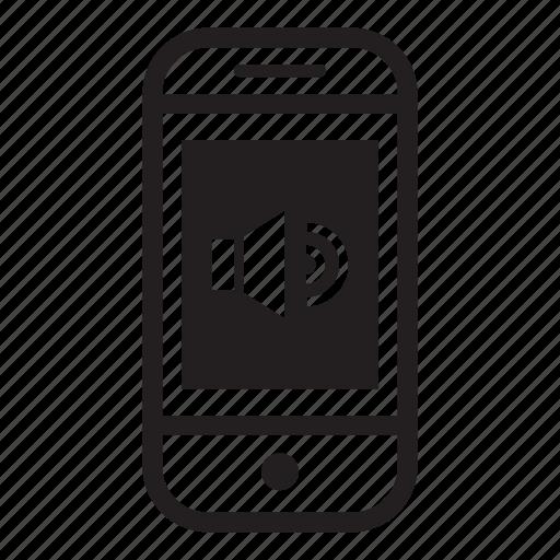 device, max, mobile, phone, smartphone, volume icon