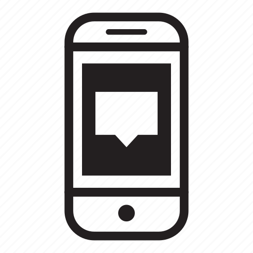 chat, device, mobile, phone, smartphone icon