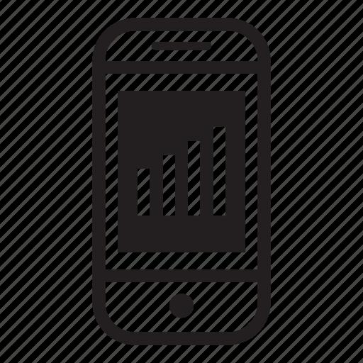 device, mobile, phone, signal, smartphone icon