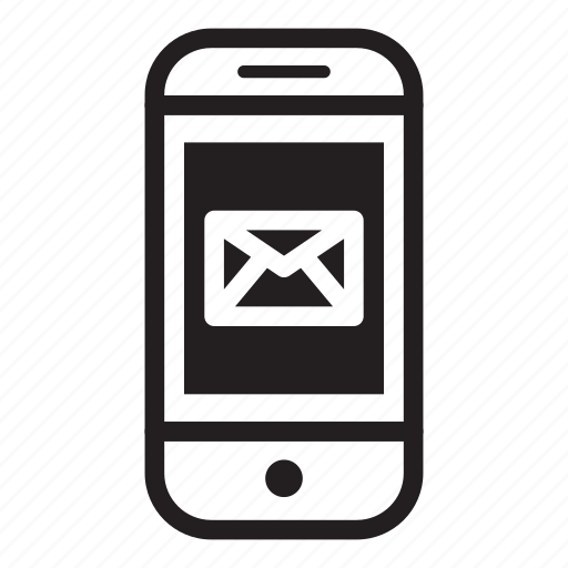 device, email, mobile, phone, smartphone icon