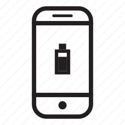 battery, device, mobile, phone, smartphone icon