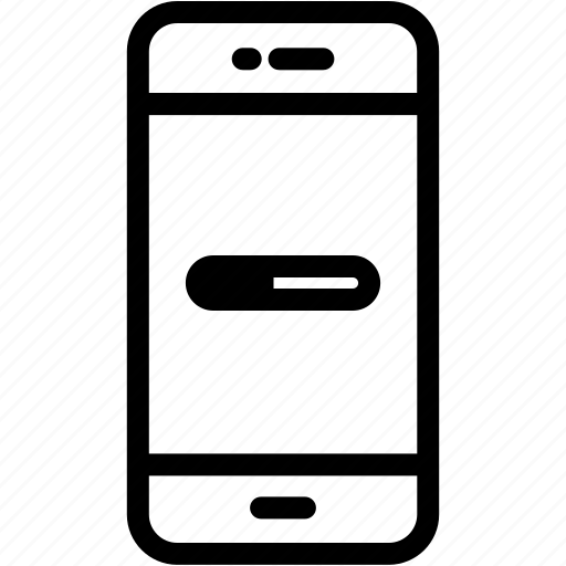 device, loading, mobile, phone, smartphone icon