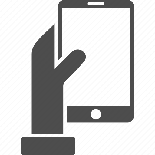 device, hand, holds, mobile phone, smartphone, technology, telephone icon