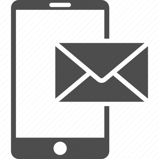 communication, email, envelope, letter, message, mobile mail, post icon