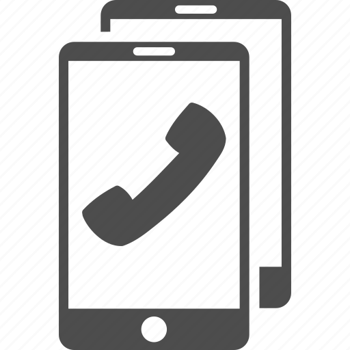 cell phones, communication, connection, contact, radio, telephone, wireless icon