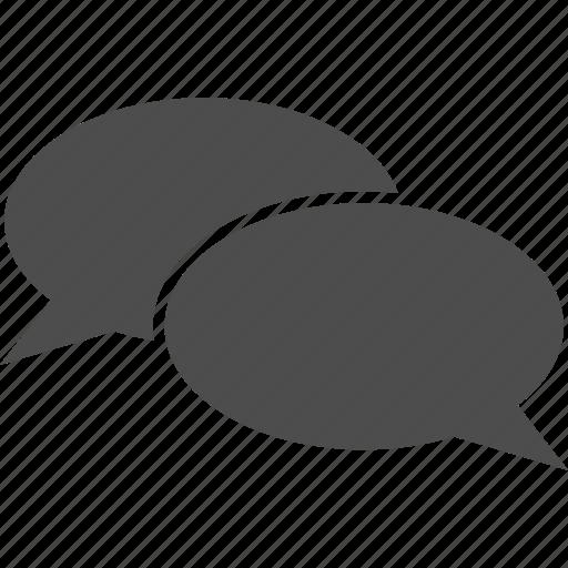 chat, clouds, comment, communication, forum, message, talk icon