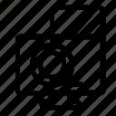 block, computer, smartphone icon