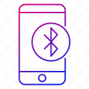 app, bluetooth, connection, mobile, phone, smartphone, transfer icon