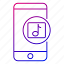 app, mobile, music, ringtones, smartphone, songs, tunes icon