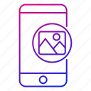 app, images, mobile, phone, photos, pictures, smartphone icon