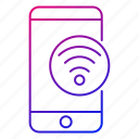 app, connection, mobile, phone, signal, smartphone, wifi icon