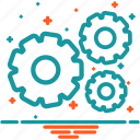 configuration, gears, options, preferences, seo, settings icon